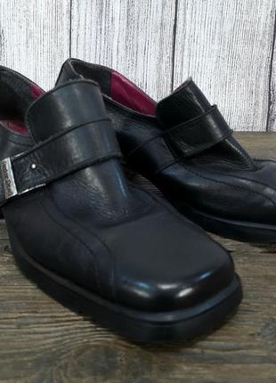 Туфли стильные red or dead, кожаные