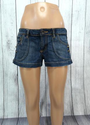Шорты короткие anchorblue, джинсовые