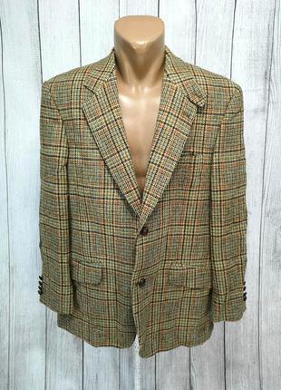 Пиджак твидовый harris tweed barutti