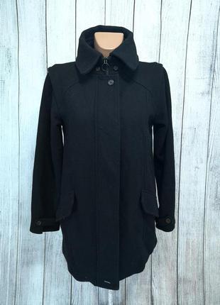 Пальто фирменное supernebeng, черное