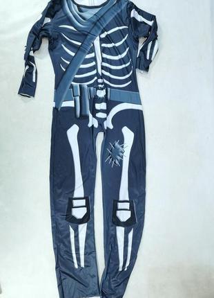 Костюм карнавальный скелет, т синий,
