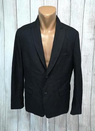 Пиджак стильный h&m, черный