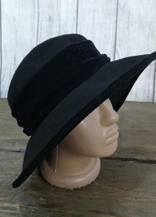 Шляпа стильная, фетровая c&a, wool