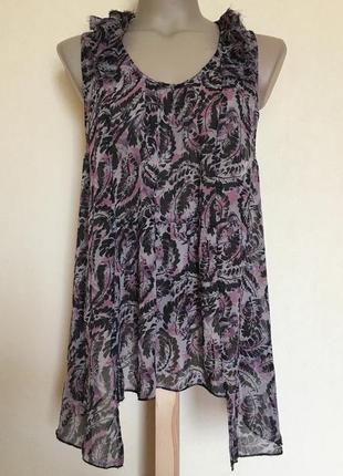 Доступно - вискозная блуза *new look* 16 р.