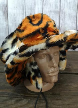 Шапка карнавальная теплая elope, тигровый раскарас