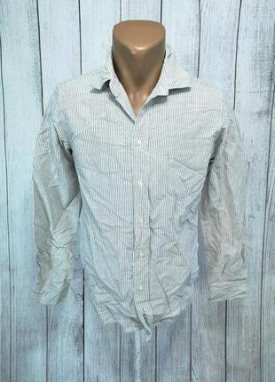 Рубашка стильная massimo dutti
