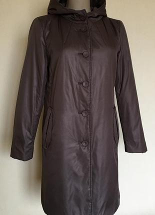 Доступно - куртка-пальто на тонком синтепоне 12/14 р.