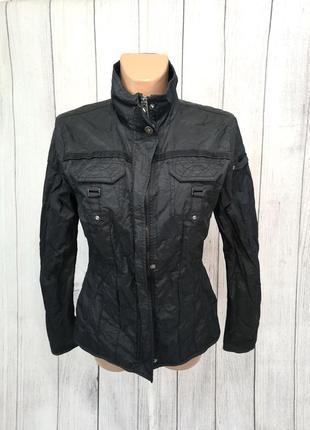 Куртка ветровка tom tailor, черная