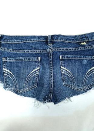 Шорты джинсовые короткие hollister