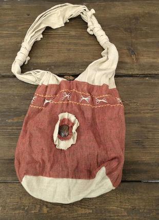 Сумочка текстильная этно, стильная