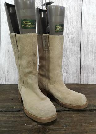 Ботинки фирменные wrangler, кожаные