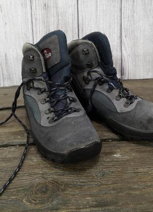 Ботинки треккинговые nomad, кожа, текстиль