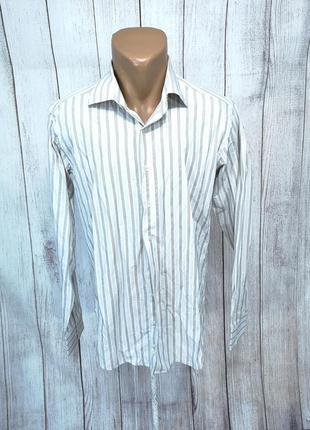 Рубашка стильная altinyildiz, slim fit