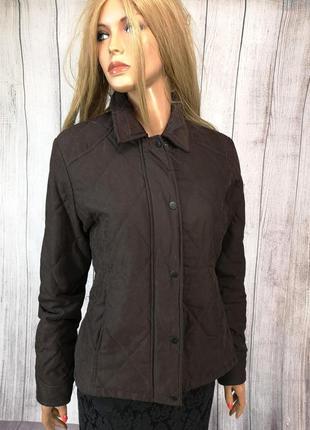 Куртка эксклюзивная, стеганая, barbour l471, коричн