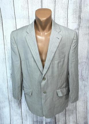 Пиджак стильный, светлый carven, шерсть