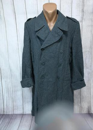 Пальто шинель теплое, форменное, швейцария, с подкладкой