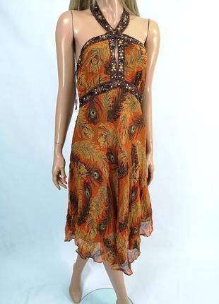 Платье из натурального шелка star