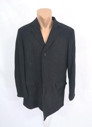 Пальто фирменное dressman, черное