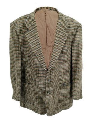 Пиджак твидовый harris tweed, оригинал