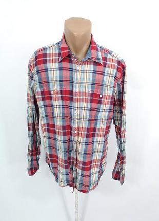 Рубашка стильная h&m logg, клетка
