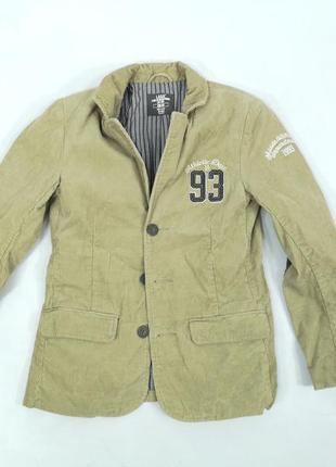 Пиджак для мальчика, вельветовый h&m logg