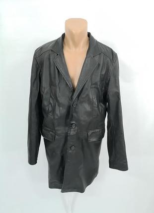 Куртка кожаная conbipel удлиненная