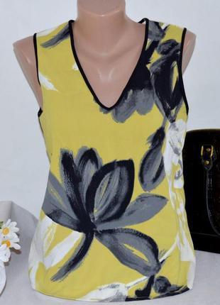Брендовая блуза next шри ланка цветы