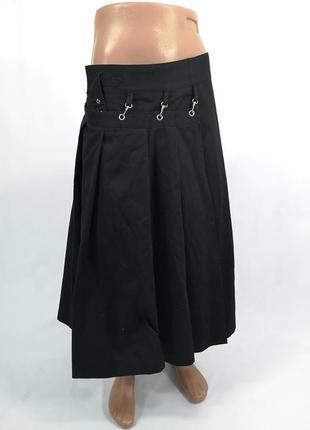 Плотная, стильная, неформальная мужская юбка, килт