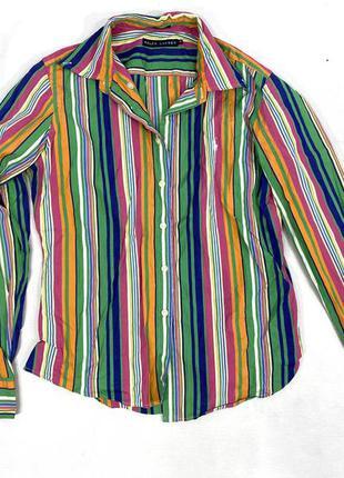 Рубашка стильная подростковая polo ralph lauren,