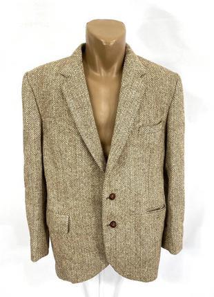 Пиджак эксклюзивный harris tweed, мин сл хранения