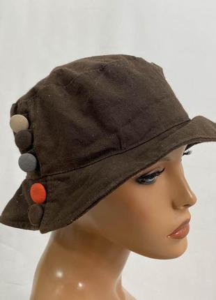 Шляпа стильная i-smals, из вощеного хлопка