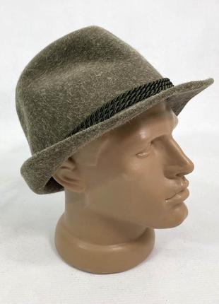 Шляпа стильная duett, шерстяная
