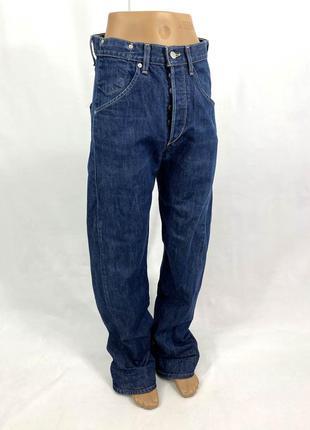 Джинсы винтажные levis, плотные, широкие