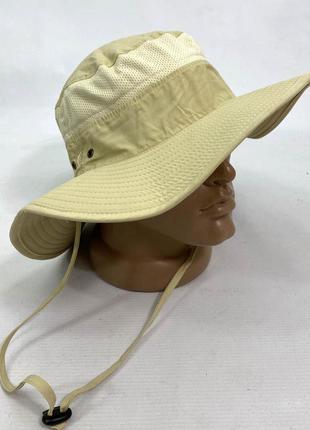 Шляпа панама светлая egoz, nylon