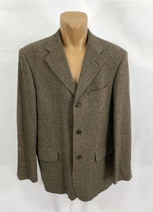 Пиджак фирменный carletti, шерсть