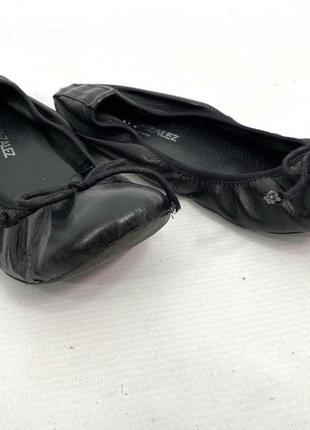 Туфли балетки легкие lola sanchez, spain, кожа