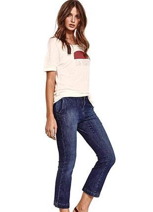 Брендовые женские голубые коттоновые джинсы mos mosh турция эт...
