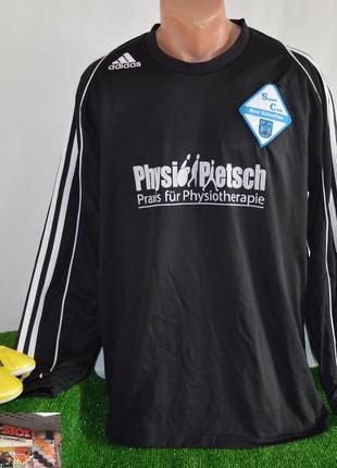 Футбольная футболка с длинным рукавом adidas climalite тайланд...