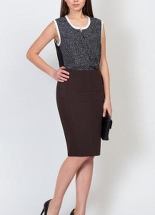 Marks & spencer всегда актуальная юбка карандаш/миди