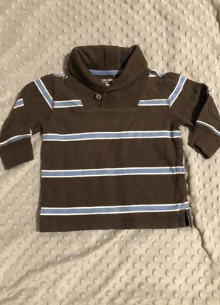 Кофта реглан свитер 12-18 м gap