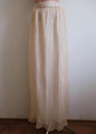 Длинная макси юбка плиссе в пол enna levoni