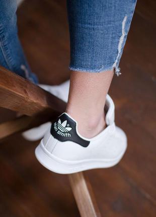 Adidas stan smith white шикарные женские кроссовки адидас стен...