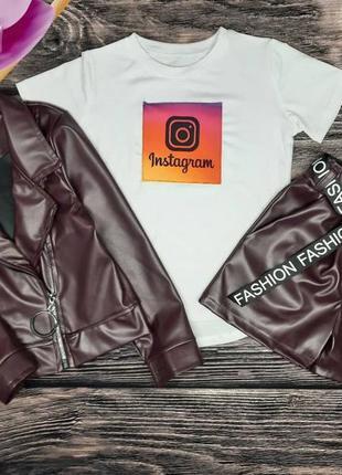 """Набор тройка """" instagram"""