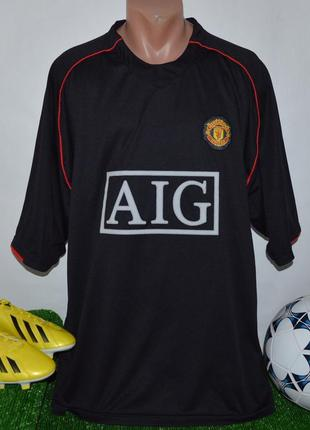 Брендовая футбольная спортивная футболка fc manchester united ...