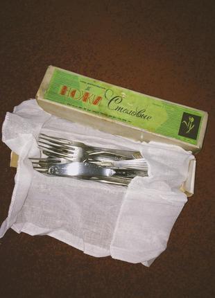 Столовые приборы вилки ножи  ссср