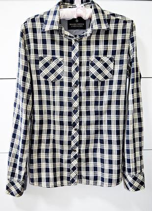 Крутая брендовая котоновая рубашка maison scotcн оригинал