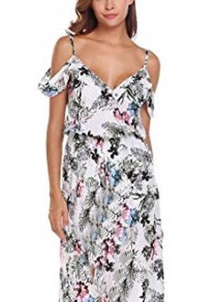 Очень красивое нежное милое платье с открытыми плечиками в цве...