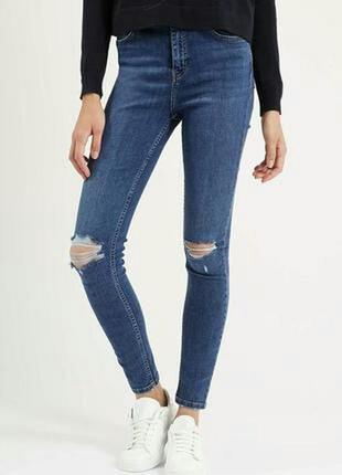 Крутые новые рваные джинсы фирмы h&m super skinny