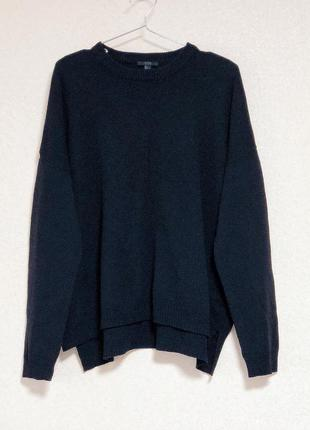Брендовый свитер оверсайз из 100% шерсти cos