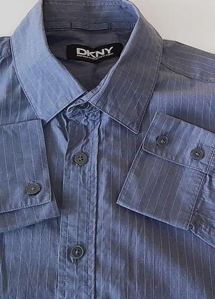 Брендовая новая рубашка из 100% котона dkny оригинал